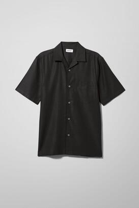 Weekday Chill Short Sleeve Shirt - Black