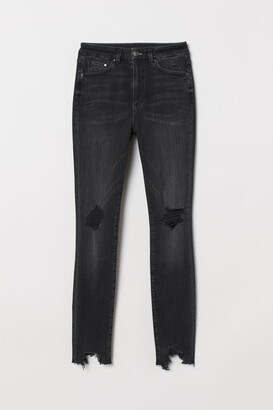 H&M Embrace High Ankle Jeans - Black