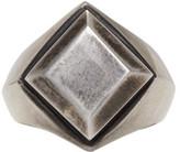 Ann Demeulemeester Silver Signet Ring