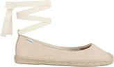 Soludos Ballet Tie Up Espadrille Flats