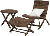 Safavieh Perkins Outdoor Lounge Chair 3-piece Set