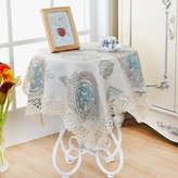 IN Tablecloths Small Garden Table,Square Lace Table Cloth,Table Cloth Towel