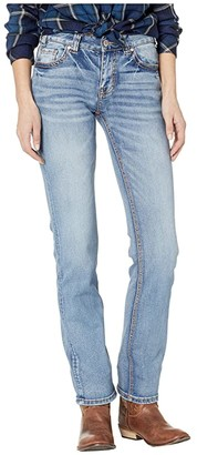 Rock and Roll Cowgirl Mid-Rise in Medium Vintage W1T9211 (Medium Vintage) Women's Jeans