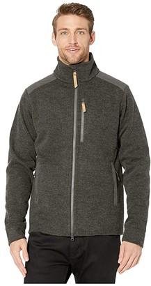 Fjallraven Singi Fleece Jacket (Stone Grey) Men's Clothing