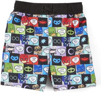 Dreamwave Apparel Boys' Board Shorts - PJ Masks Panel Board Shorts - Toddler