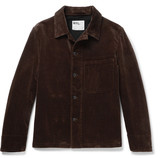 Margaret Howell Mhl Cotton-corduroy Jacket - Chocolate