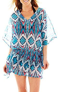 Studio 36 Ikat Print Cover-Up Tunic