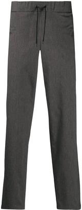 A.P.C. Drawstring Waist Straight-Leg Trousers