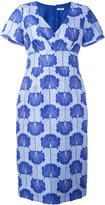P.A.R.O.S.H. floral jacquard shift dress - women - Silk/Polyamide/Polyester/Viscose - M