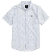 RVCA Boy's That'Ll Do Floral Print Woven Shirt