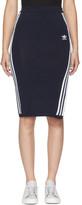 adidas Navy 3-Stripes Skirt
