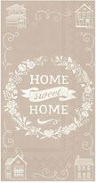 """Home Sweet Home"" 3-Ply Paper Guest Towels"