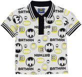 Character Kids Polo Shirt Tee Top Infant Boys Short Sleeve Fold Down Collar Neck