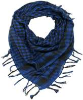Trendy Plaid & Houndstooth Check Soft Square Scarf - Different Colors Available By TrendsBlue