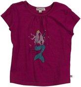 Appaman Mermaid Tee (Toddler/Kid) - Goji Berry-10