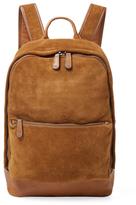 Frye Chris Suede Backpack