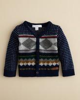 Burberry Infant Boys' Ryan Geometric Intarisa Cardigan - Sizes 6-18 Months