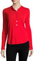 Roberto Cavalli Women's Henley T-shirt