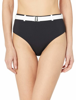 Volcom Junior's Women's Simply Rib Retro Bikini Bottom