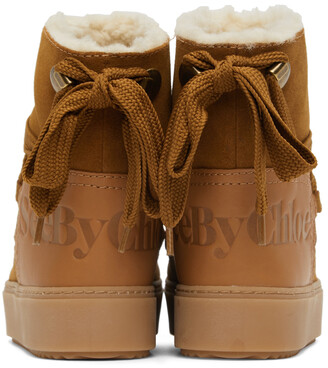 See by Chloe Suede Charlee Ankle Boots