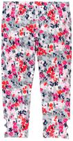 Gymboree Floral Leggings