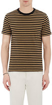 Officine Generale MEN'S STRIPED T-SHIRT