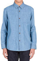 Volcom Hudson Chambray Shirt (Toddler Boys & Little Boys)