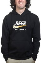 Customised Perfection Beer Just Do Drink It Hoodie M