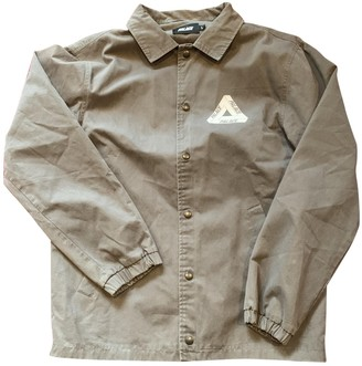 Palace Grey Cotton Jackets