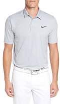 Nike 'Mobility Emboss' Golf Piqué Polo