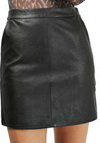 Topshop TALL Faux Leather Pencil Skirt