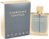 Azzaro Chrome United by Eau De Toilette Spray for Men (3.4 oz)