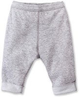 Petit Bateau Babies reversible leggings in tube knit