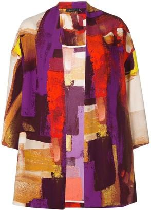 Natori Printed Kimono