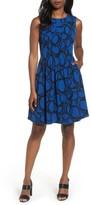 Anne Klein Women's Print Fit & Fare Dress