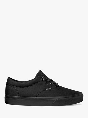 Vans Doheny Canvas Lace Up Trainers, Black