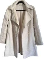 agnès b. Beige Coat for Women