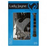 Lady Jayne Pins - Bobby Pins, 4.5cm, Brown 25 pack
