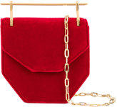 M2Malletier Amor Fati Mini Velvet Shoulder Bag
