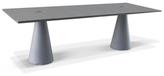 Rectangular Locking Dining Table