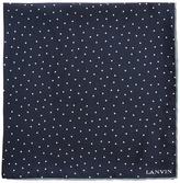 Lanvin Polka-dot silk pocket square