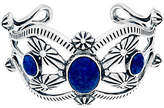 American West Sterling Silver & Denim Lapis Cuff by 34.0g