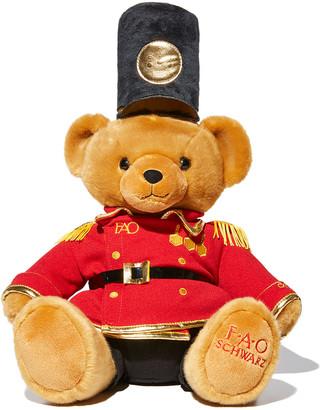 """Fao Schwarz """"Gigi Hadid"""" Plush Toy Soldier Teddy Bear"""