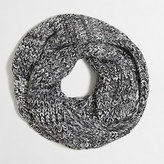 J.Crew Factory Marled chunky knit infinity scarf