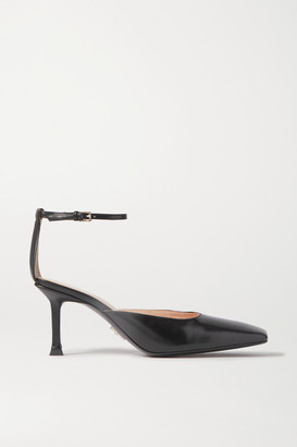 Cesare Paciotti Glossed-leather Pumps - Black