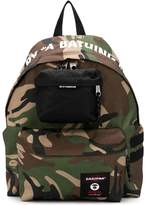 Eastpak x AAPE camouflage print backpack