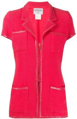 Chanel Pre Owned 2005 Tweed Jacket