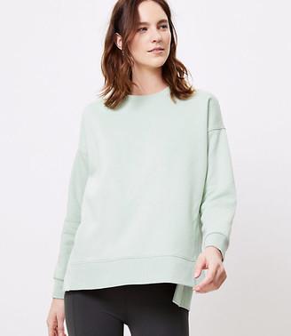 LOFT Lou & Grey Fleeceback Sweatshirt