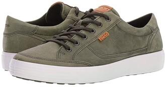 Ecco Soft Retro Sneaker (Wild Dove) Men's Lace up casual Shoes