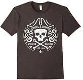 Skull Bones Pirate Bar Jolly Roger Crossed Swords T-Shirt